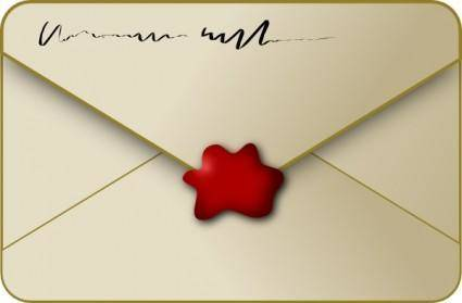 Sealed Envelope clip art