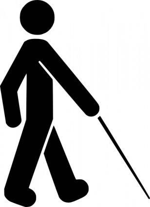 Visually Impaired Symbol clip art