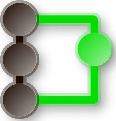 O Qgit Icon clip art