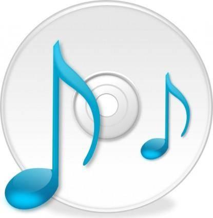 Minduka Music Icon clip art