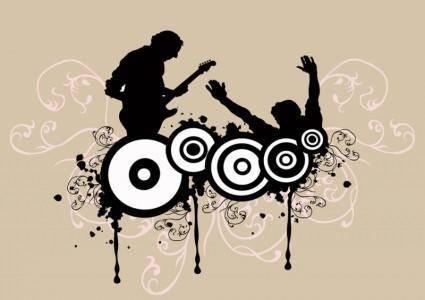 free vector Rock Concert
