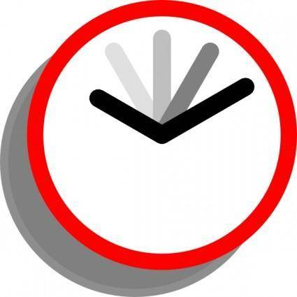 Current Event Clock clip art