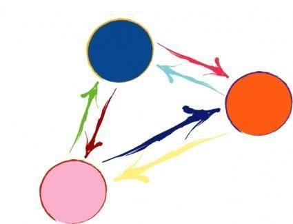 Social Networking Interaction clip art