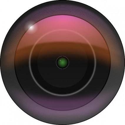 Leftover Bacon Camera Lens clip art