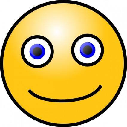 Chat Smiley clip art