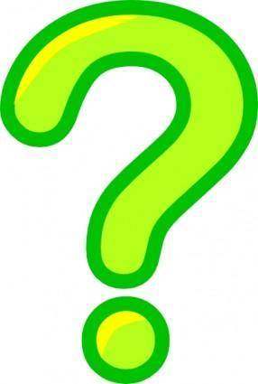 Question Mark Icon clip art