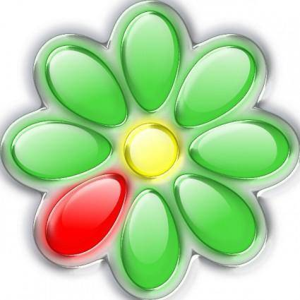 Lemonade Jo Icq Glass Flower clip art