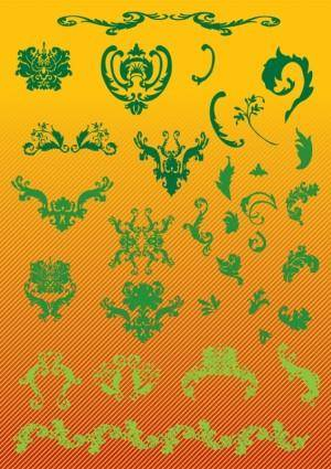 free vector Nature Scroll Graphics