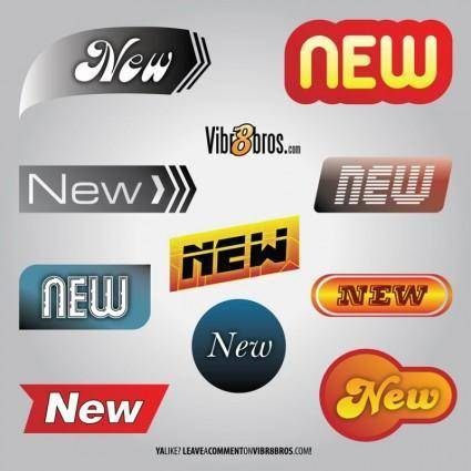 free vector New Logos