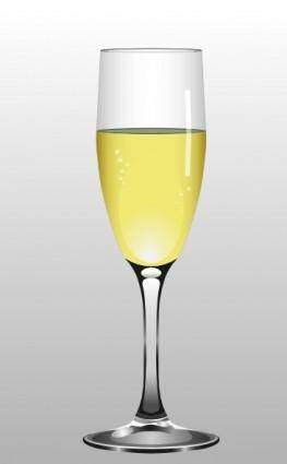 Glass Of Champagne clip art