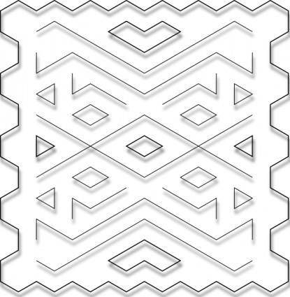 free vector Wire Glass Decoration clip art