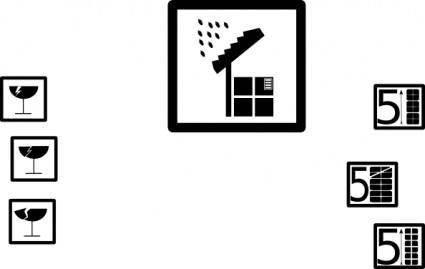 free vector Pictograms clip art