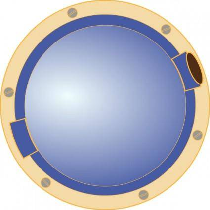 free vector Porthole Window Ship clip art