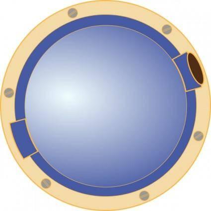 Porthole Window Ship clip art