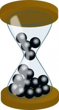 free vector Hourglass clip art