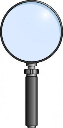 free vector Ernes Lente Magnifying Glass clip art