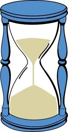 Hourglass With Sand clip art