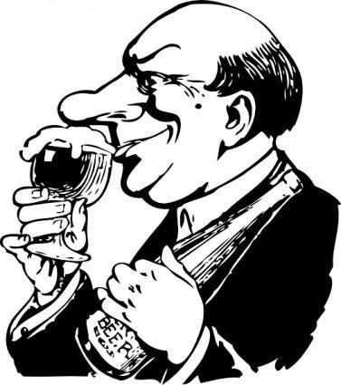 The Beer Snob clip art