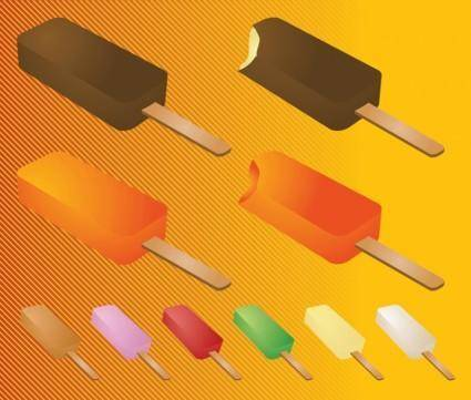 free vector Popsicle