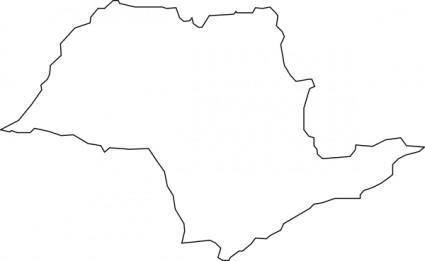 free vector Nferraz S O Paulo Map clip art
