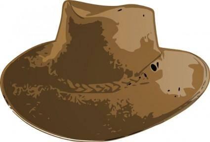 free vector Aussie Hat clip art