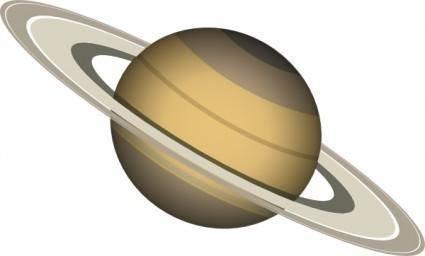 free vector Saturn clip art
