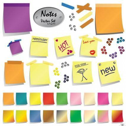 free vector Post-It Notes