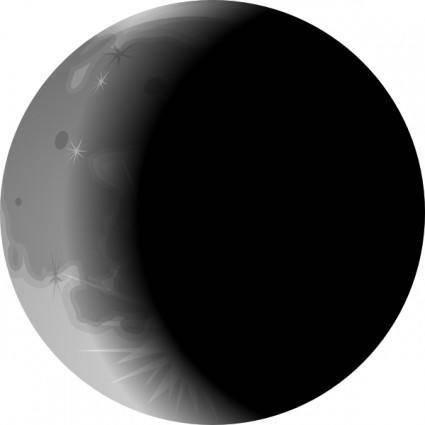 free vector Moons clip art