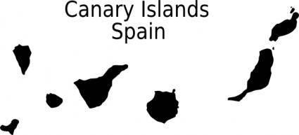 free vector Canarias clip art