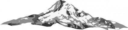 free vector Mount Hood clip art