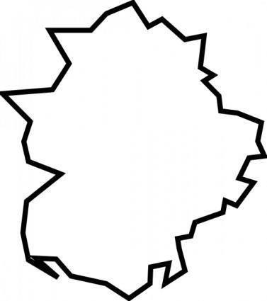 free vector Extremadura clip art
