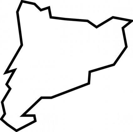 free vector Catalunya clip art