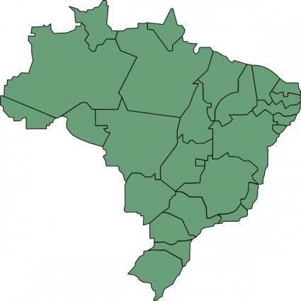 Brazil States clip art