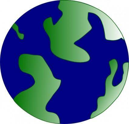 Pseudo Globe clip art