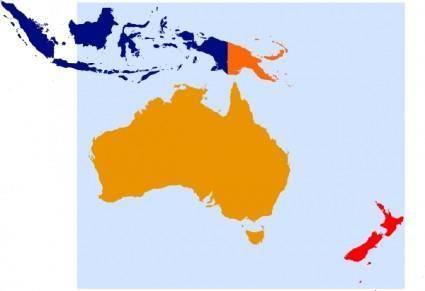 Oceania Oceanica clip art