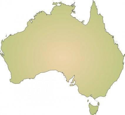 free vector Australia clip art