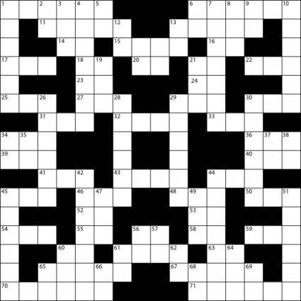 Crossword Puzzle clip art