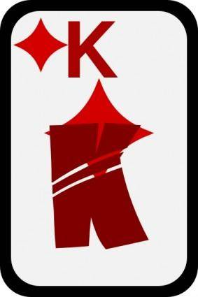 King Of Diamonds clip art