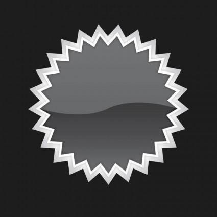 free vector 3D Vector Button