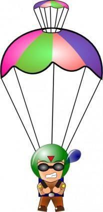 Paratrooper  clip art