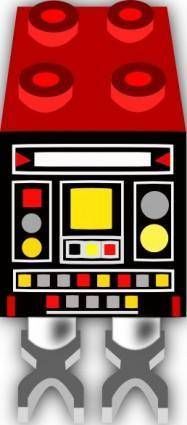 free vector Droid Lego clip art