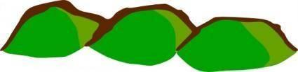 free vector Game Map Symbols Three Hills clip art