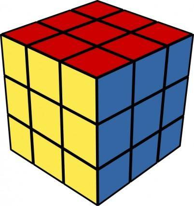 Rubic Cube clip art