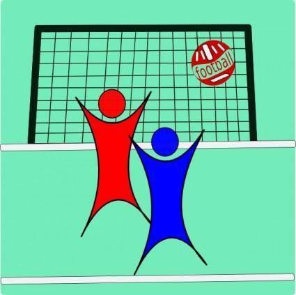 free vector Football Soccers clip art
