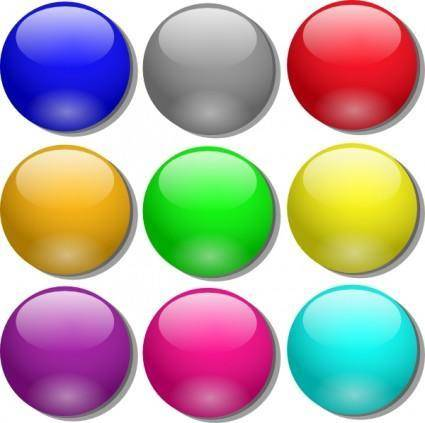Game Marbles clip art