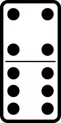 Domino Set clip art