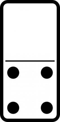 Domino Set clip art 105136