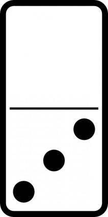 Domino Set clip art