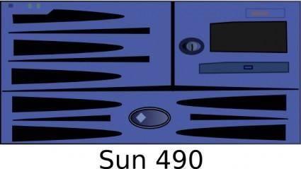 free vector Sun Fire Game clip art