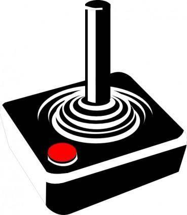 Retro Joystick clip art